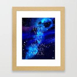 I Love You.. Framed Art Print