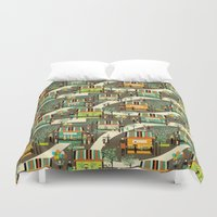 science Duvet Covers featuring science fair by kociara