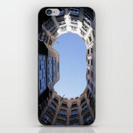 Barcelona Photography - Casa Mila La Pedrera iPhone Skin