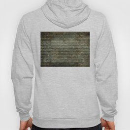 Binary Code with grungy textures Hoody