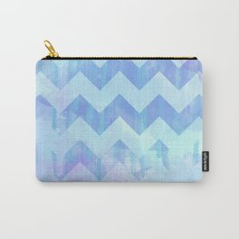 Watercolour Chevron {Spring 2015 Limited Edition} No. 2 Carry-All Pouch