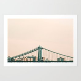 Bridges Of NYC Part 2 Art Print