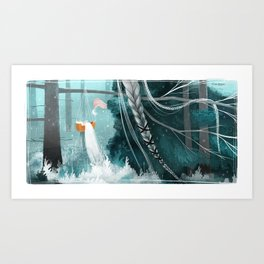Northern Woods VI Art Print
