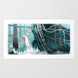 Northern Woods VI Art Print