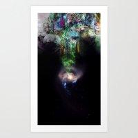 Leaving Underworld Paradise Art Print