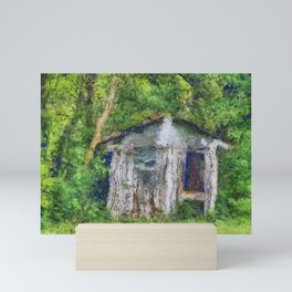 Chicken Coop PhotoArt Mini Art Print