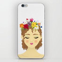 Flower Crown May iPhone Skin