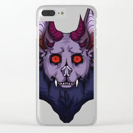 Bob the Bat Clear iPhone Case