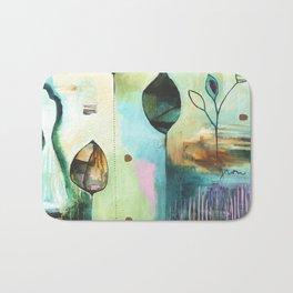 """Abundance"" Original Painting by Flora Bowley  Bath Mat"