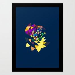 Datadoodle 22 Art Print