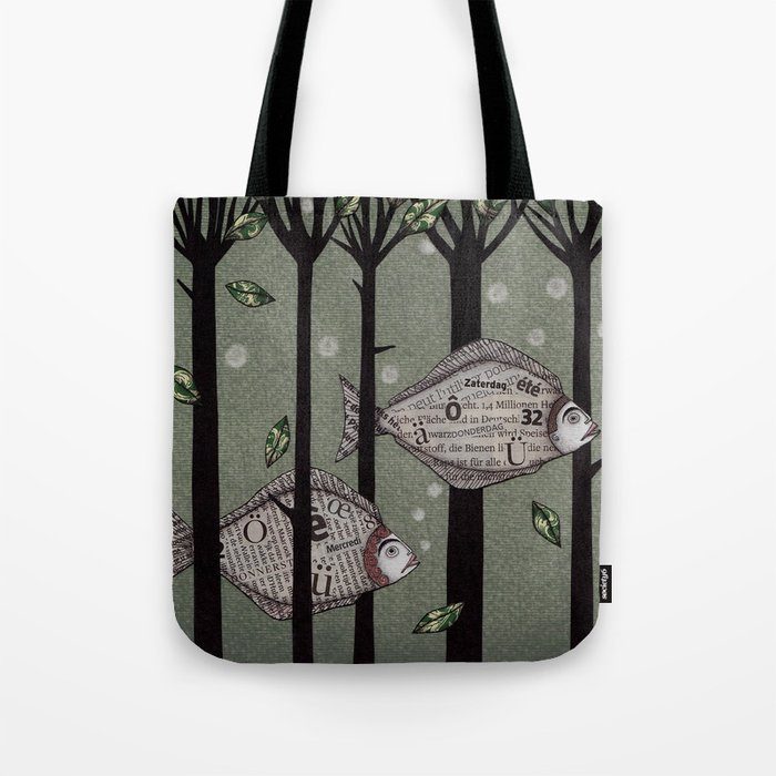 A Fishy Story Tote Bag