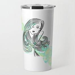 I dream of the sea Travel Mug