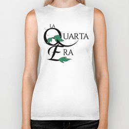 LaQuartaEra_White Biker Tank