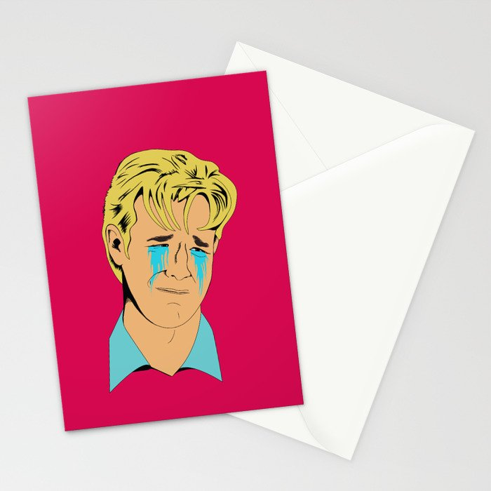 Crying Icon #1 - Dawson Leery Stationery Cards
