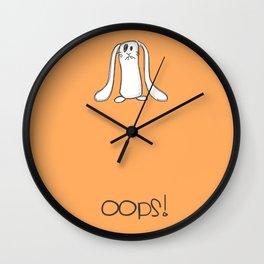 Oops!!! Wall Clock