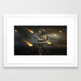Fireland Framed Art Print