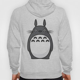 Totoro Pop Art - Orange Version Hoody