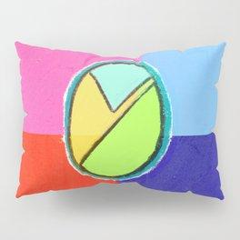 Doodle: colorblock Pillow Sham