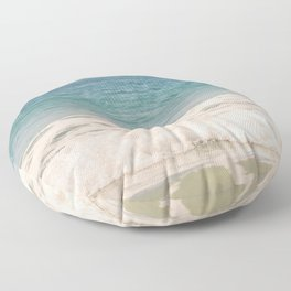 Beach Waves Floor Pillow