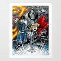 Fullmetal Alchemist by mariorojas