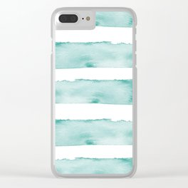 Tropical Waters Clear iPhone Case