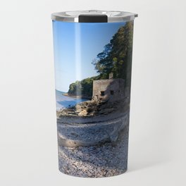 Elberry Cove - Agatha Christie's Favourite Bathing Spot Travel Mug
