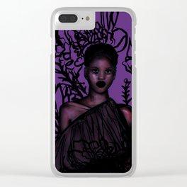 Adut Akech Clear iPhone Case