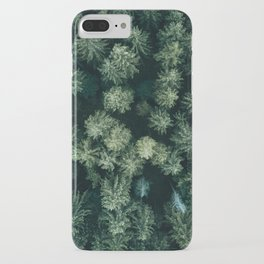 Forest from above - Landscape Photography iPhone Case