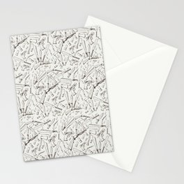 Apocalyptic Weapons  Stationery Cards