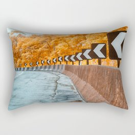 Highway Curve Rectangular Pillow