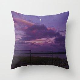 Coloured Sky Throw Pillow