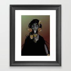 Vampire Queen. Framed Art Print