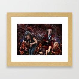AC/DC Black Ice Framed Art Print