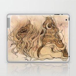 sounds of silence Laptop & iPad Skin