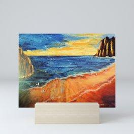 The reef   Le récif Mini Art Print