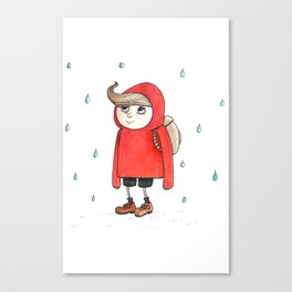 little red riding Canvas Print