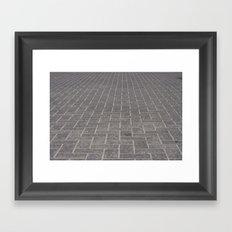 Cobblestone Framed Art Print