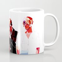 snk Mugs featuring SNK Broken Boys by rhymewithrachel