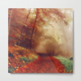 Tip Toe Through The Forest Metal Print