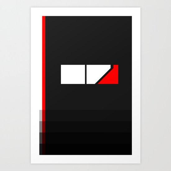 Minimal Effect Art Print