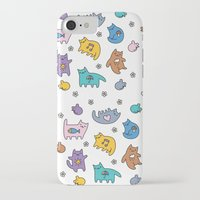 kittens iPhone & iPod Cases featuring Kittens by Plushedelica