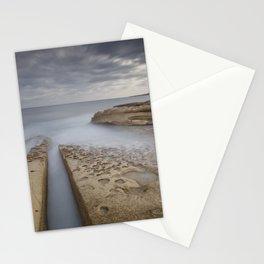 Salina, Malta Seascape Stationery Cards
