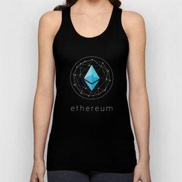 Ethereum Blockchain Design Unisex Tank Top