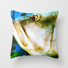 Blubb Throw Pillow