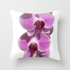 Bodacious bloom Throw Pillow