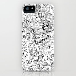 Fragments of dream iPhone Case