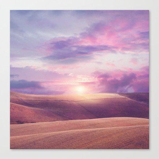 Pastel vibes 34 Canvas Print