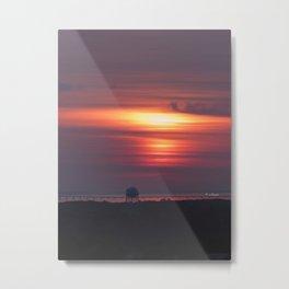 Bay Sunrise Metal Print