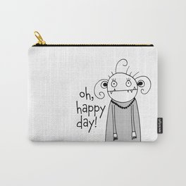 Cute zombie illustration Carry-All Pouch
