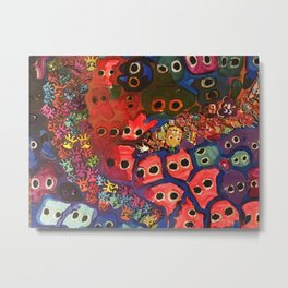 The Small Picture Collection: AMOEBA Metal Print